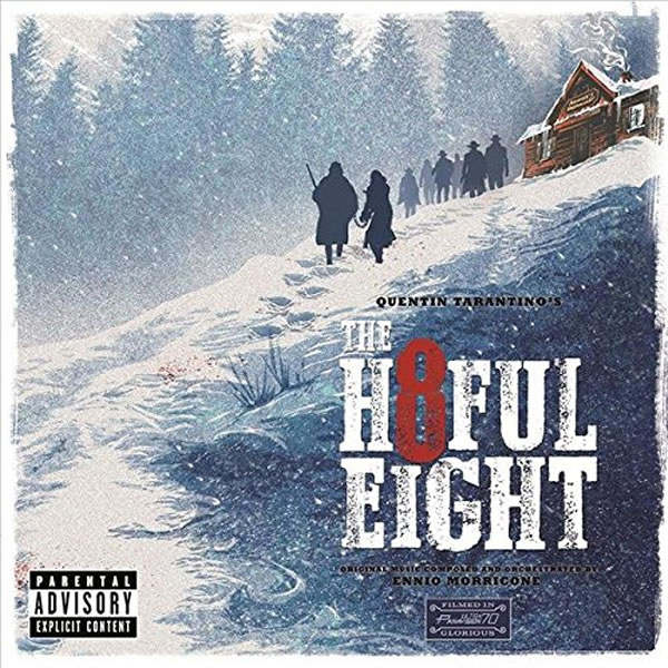 THE HATEFUL EIGHT - THE ORIGINAL MOTION PICTURE SOUNDTRACK (AUDIO CD)