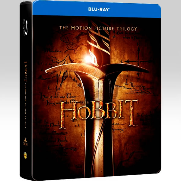 THE HOBBIT: THE MOTION PICTURE TRILOGY - ΧΟΜΠΙΤ: Η ΤΡΙΛΟΓΙΑ Limited Collector's Edition Steelbook (6 BLU-RAYs)