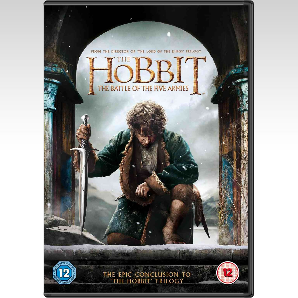 THE HOBBIT: THE BATTLE OF THE FIVE ARMIES - ������: � ���� ��� ����� ������� (DVD)