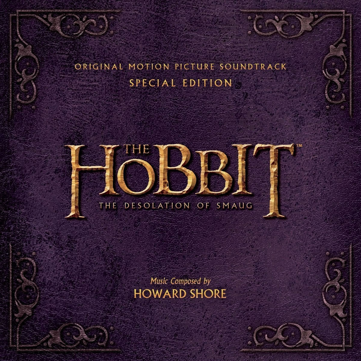 THE HOBBIT: THE DESOLATION OF SMAUG - ORIGINAL MOTION PICTURE SOUNDTRACK Special Edition (2 AUDIO CDs)