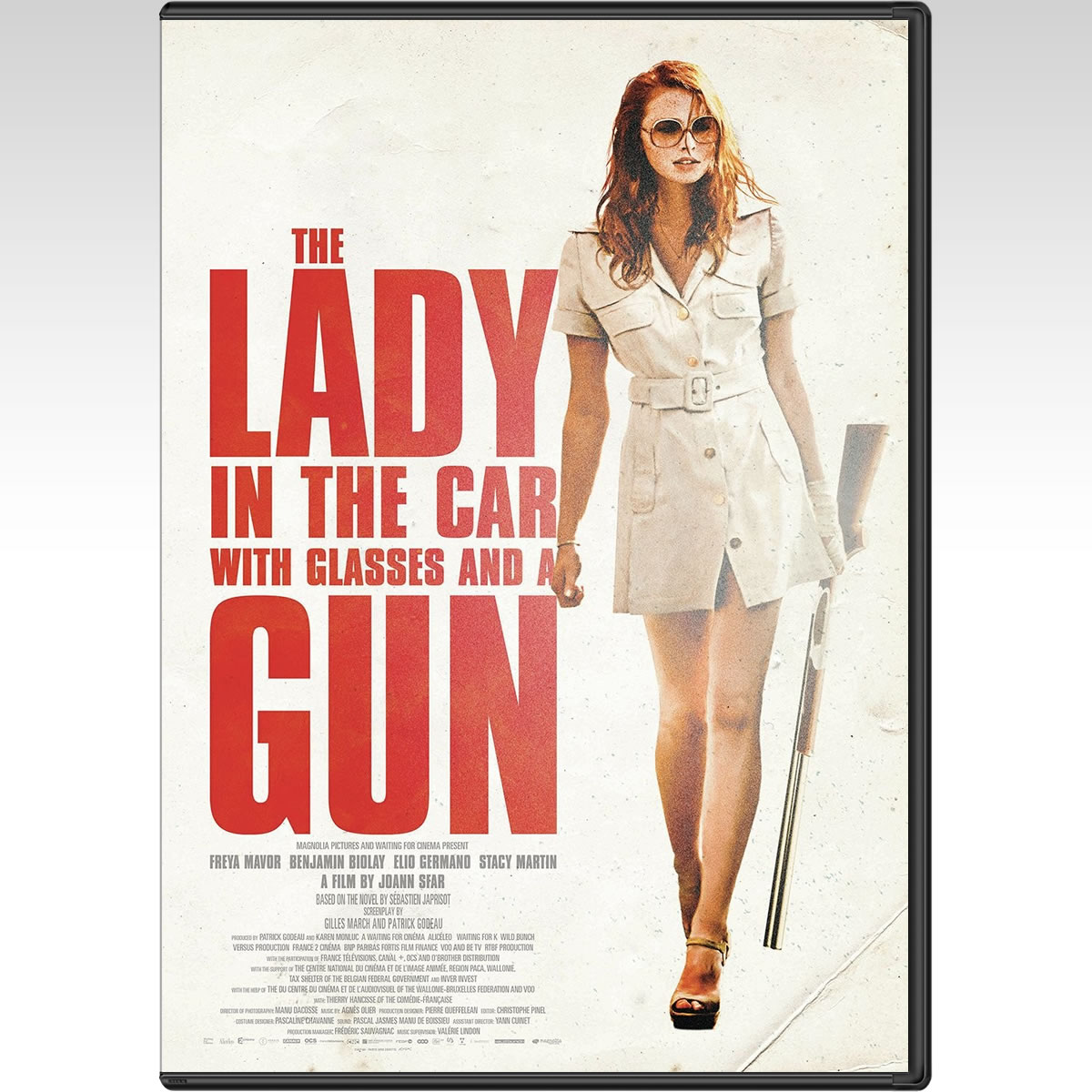THE LADY IN THE CAR WITH GLASSES AND A GUN (DVD)