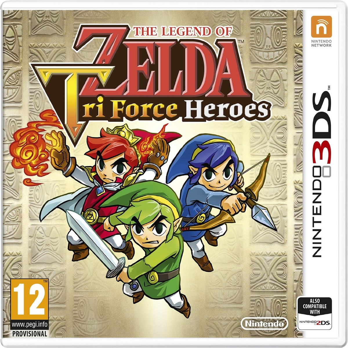 THE LEGEND OF ZELDA: TRI FORCE HEROES (3DS, DS)