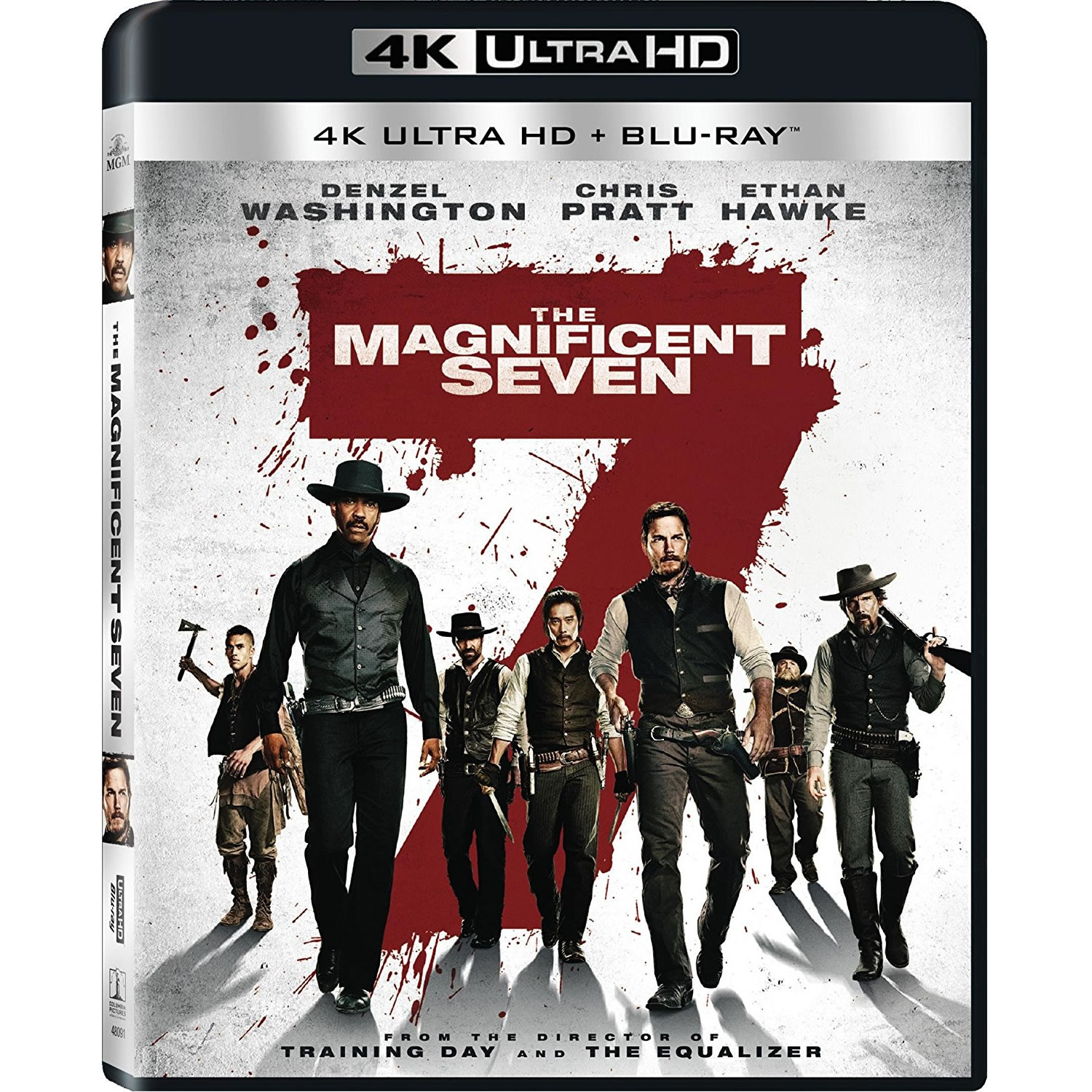 THE MAGNIFICENT SEVEN [2016] - ΚΑΙ ΟΙ 7 ΗΤΑΝ ΥΠΕΡΟΧΟΙ [2016] (4K UHD BLU-RAY + BLU-RAY)