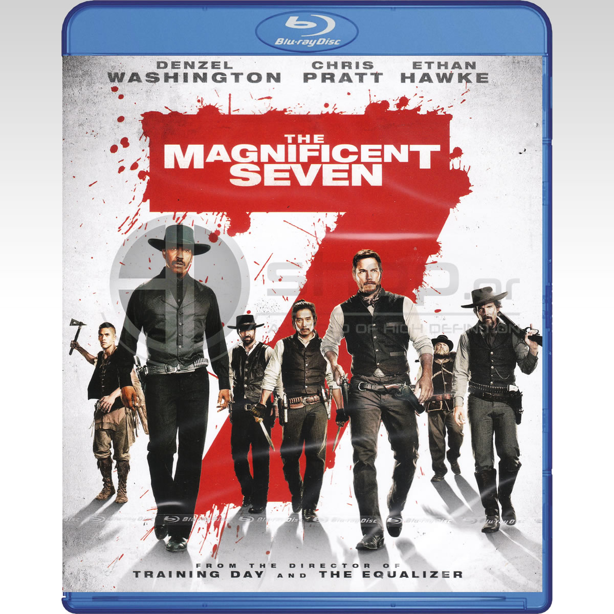 THE MAGNIFICENT SEVEN [2016] - ΚΑΙ ΟΙ 7 ΗΤΑΝ ΥΠΕΡΟΧΟΙ [2016] (BLU-RAY)