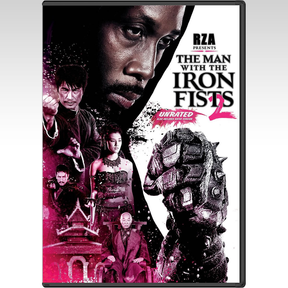 THE MAN WITH THE IRON FISTS 2 - O �������� �� ��� ���������� ������� 2 (DVD)