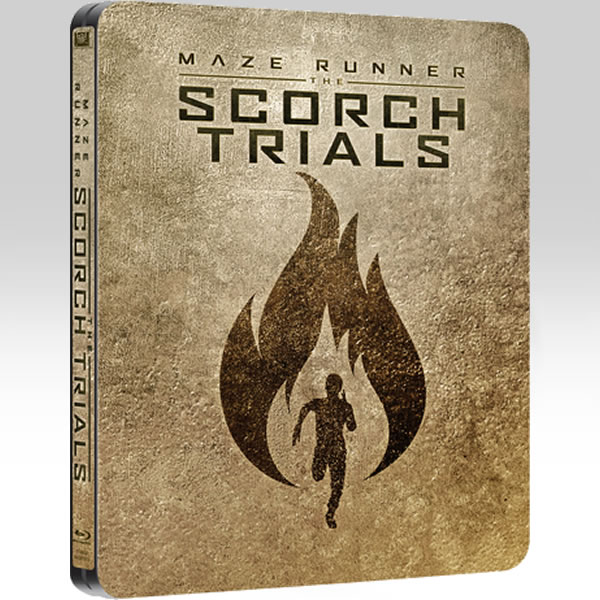THE MAZE RUNNER: THE SCHORCH TRIALS - � ����������: ������� ���������� Limited Edition Steelbook [��������� �� ���������� ����������] (BLU-RAY)