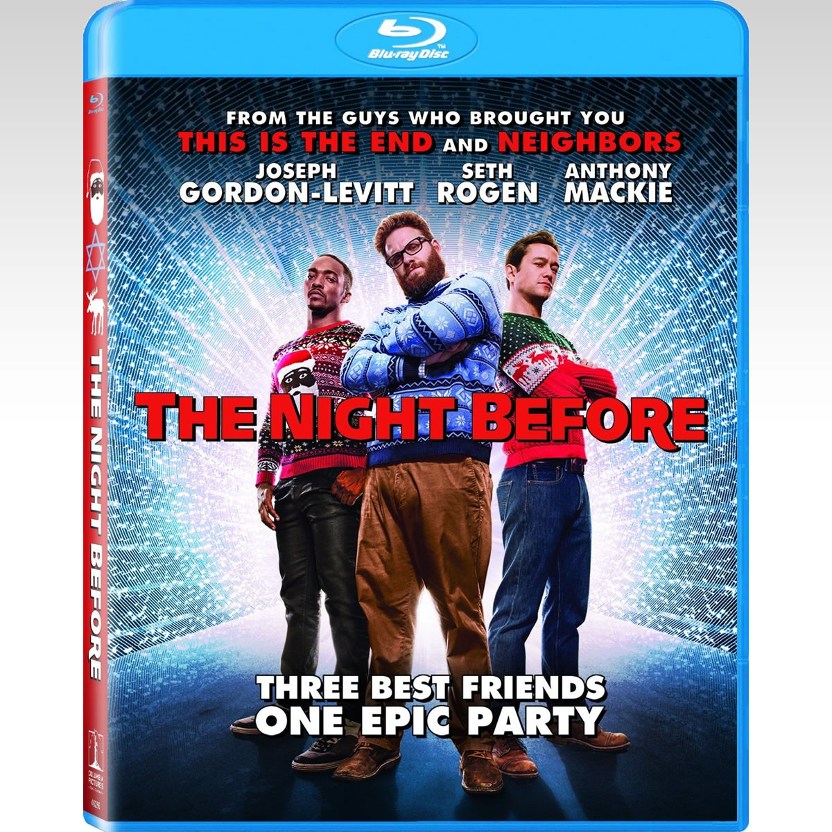 THE NIGHT BEFORE - OI ΠΑΡΤΑΚΗΔΕΣ (BLU-RAY)