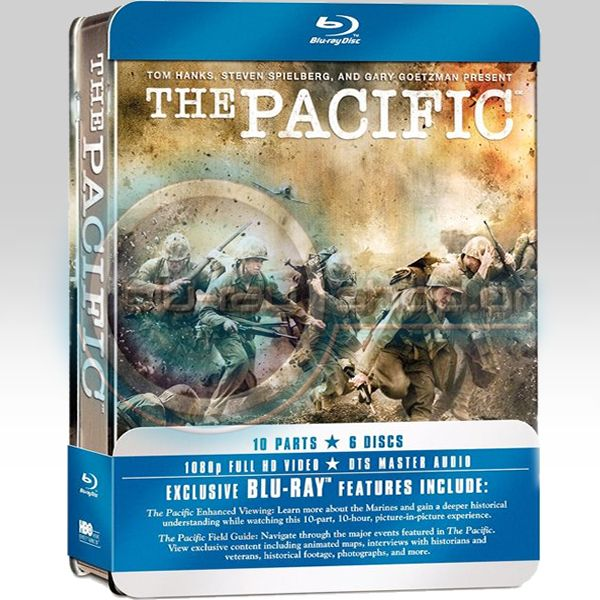 THE PACIFIC - COMPLETE HBO SERIES TIN BOX (6 BLU-RAYs)
