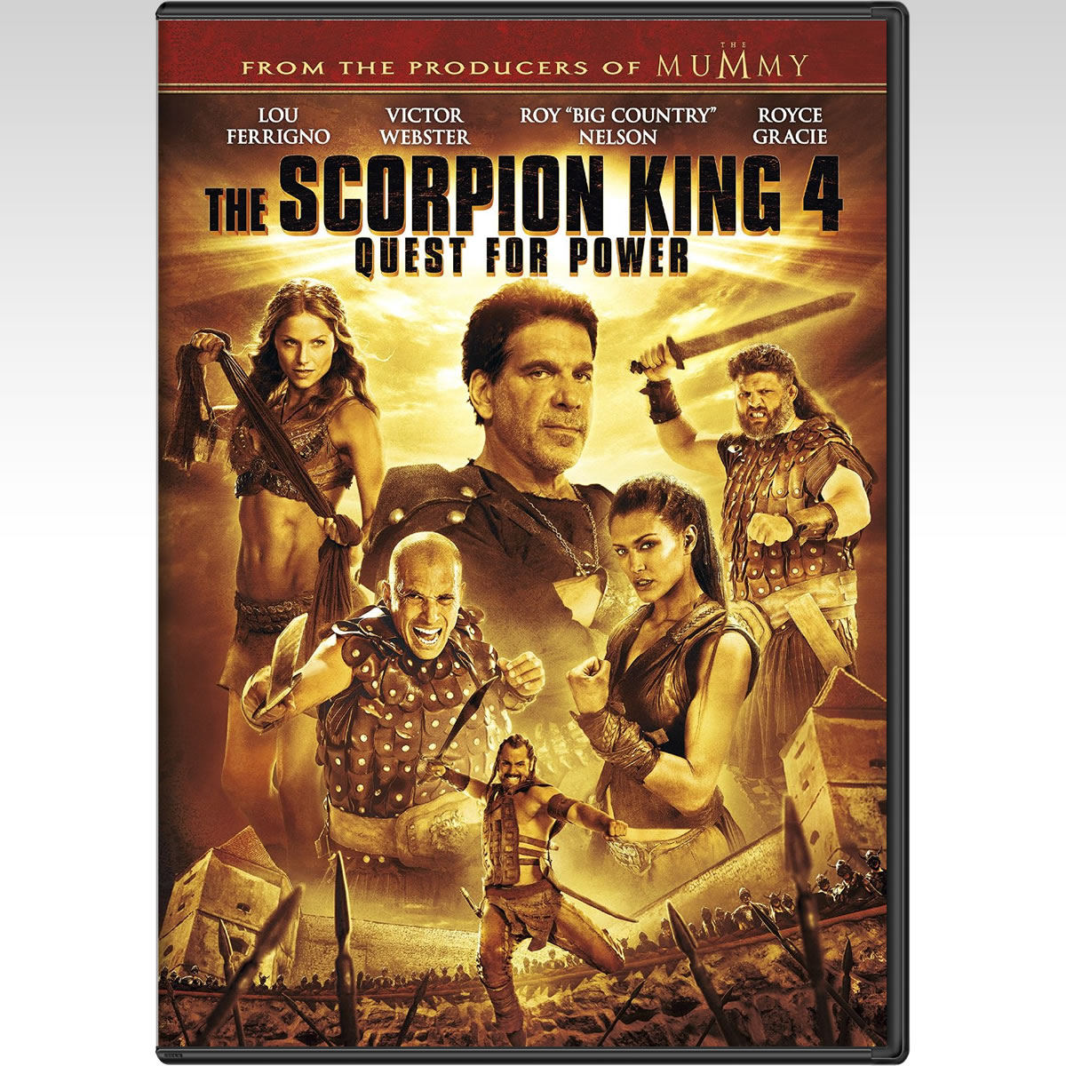 THE SCORPION KING 4: QUEST FOR POWER - SCORPION KING 4: ���� ��� ��� ������� (DVD)