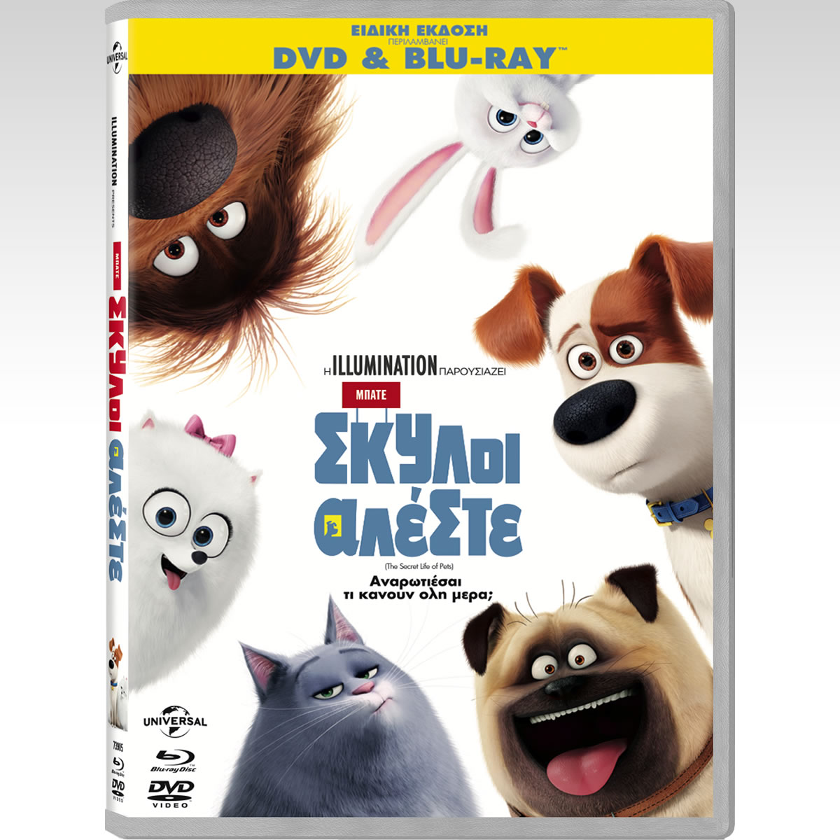 THE SECRET LIFE OF PETS Special Edition Combo (DVD + BLU-RAY)