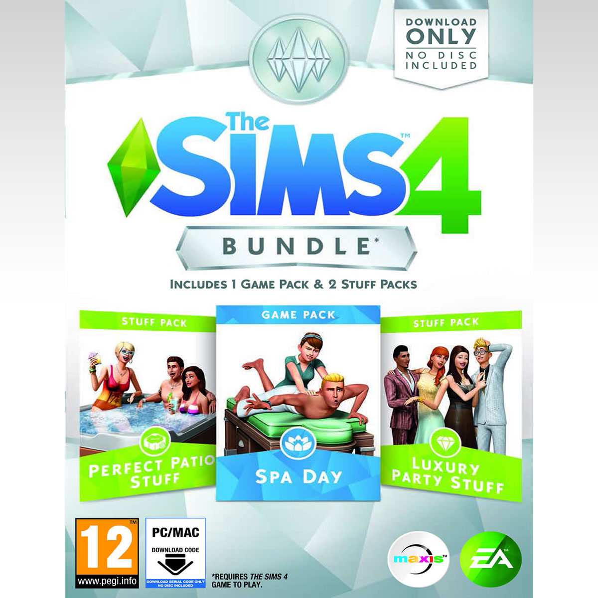 THE SIMS 4 BUNDLE (CODE IN A BOX) (PC)