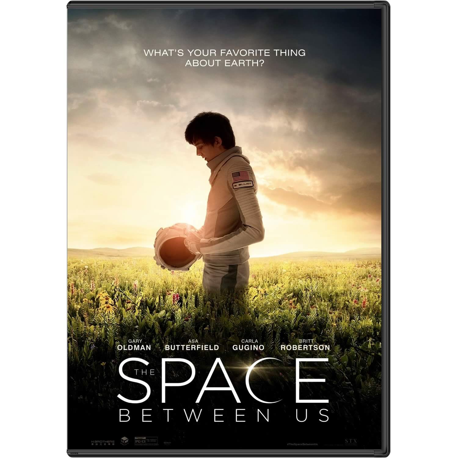 THE SPACE BETWEEN US - ΤΟ ΔΙΑΣΤΗΜΑ ΑΝΑΜΕΣΑ ΜΑΣ (DVD)