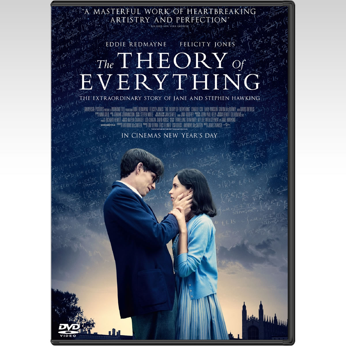 THE THEORY OF EVERYTHING - � ������ ��� ������ (DVD)
