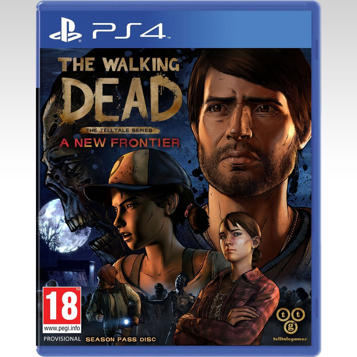 THE WALKING DEAD: THE TELLTALE SERIES: A NEW FRONTIER (PS4)