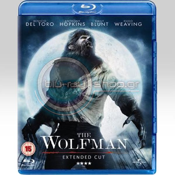 THE WOLFMAN (EXTENDED DIRECTOR'S CUT) - Ο ΛΥΚΑΝΘΡΩΠΟΣ (BLU-RAY)