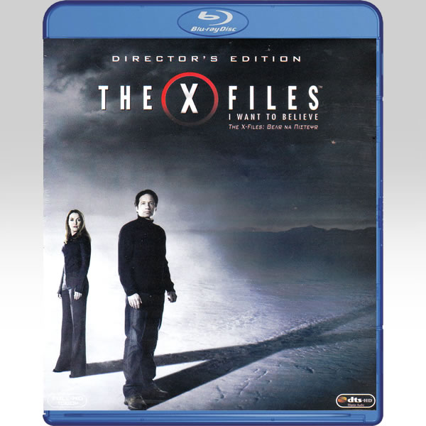 THE X-FILES: I WANT TO BELIEVE Director's Edition (BLU-RAY)