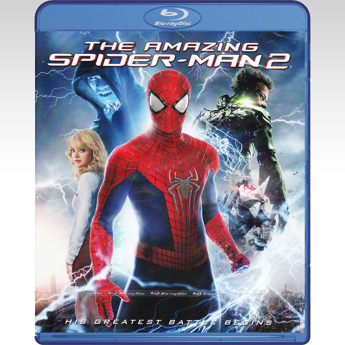 THE AMAZING SPIDER-MAN 2 [4K MASTERED] (BLU-RAY)