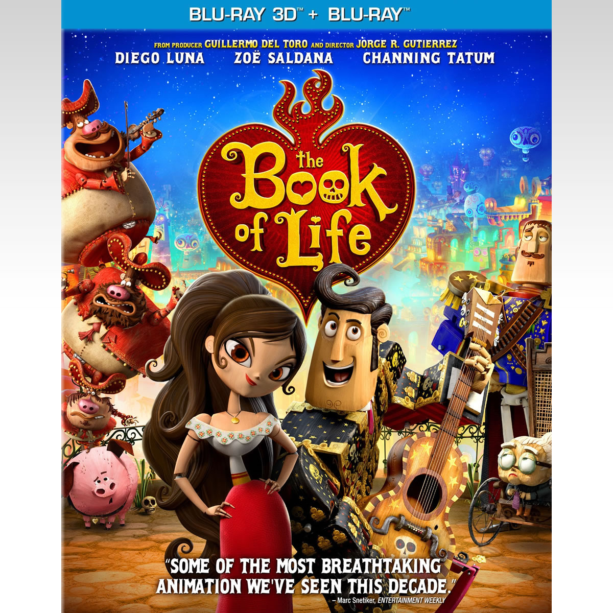 THE BOOK OF LIFE 3D - �� ������ ��� ���� 3D (BLU-RAY 3D/2D)