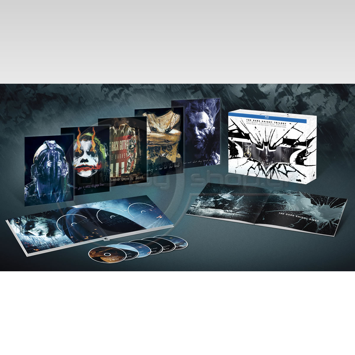 THE DARK KNIGHT TRILOGY - Ultimate Collector's Limited Edition (6 BLU-RAY)