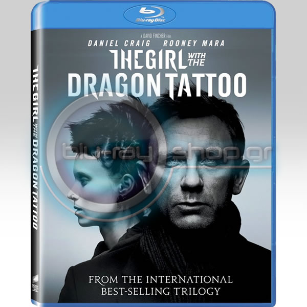 THE GIRL WITH THE DRAGON TATTOO - �� ������� �� �� ������� (BLU-RAY)