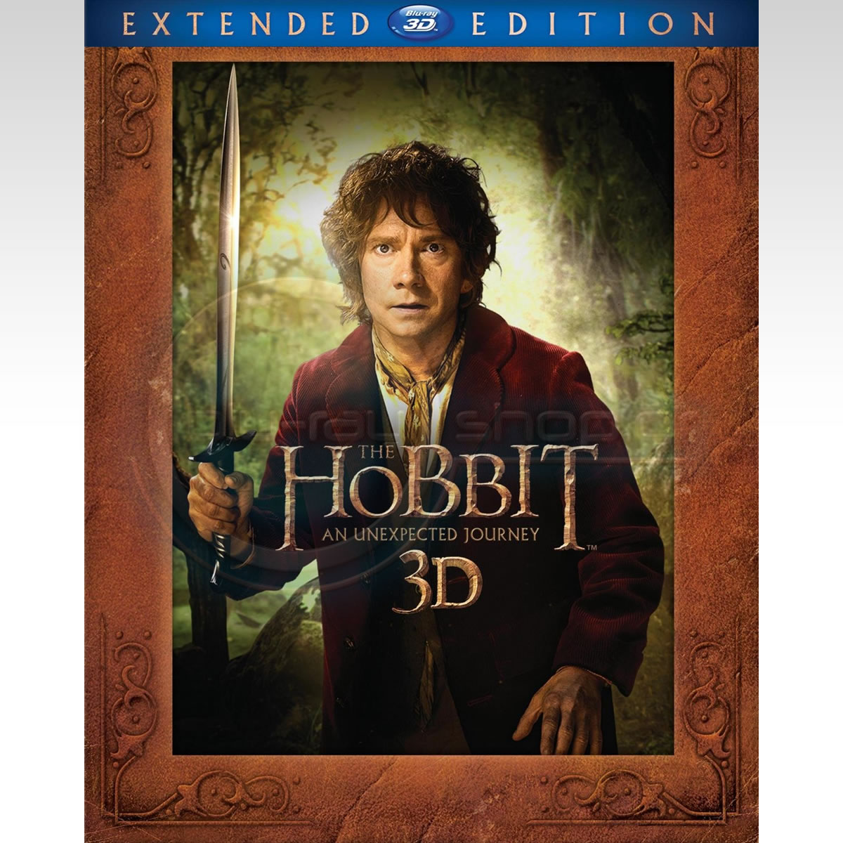 THE HOBBIT: AN UNEXPECTED JOURNEY 3D Extended Edition - THE HOBBIT: ΕΝΑ ΑΝΑΠΑΝΤΕΧΟ ΤΑΞΙΔΙ 3D Extended Edition (2 BLU-RAY 3D + 3 BLU-RAY)