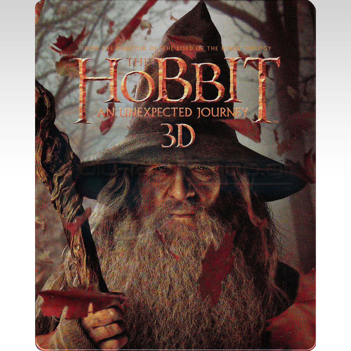 THE HOBBIT: AN UNEXPECTED JOURNEY 3D - THE HOBBIT: ΕΝΑ ΑΝΑΠΑΝΤΕΧΟ ΤΑΞΙΔΙ 3D Limited Collector's Edition Steelbook (2 BLU-RAY 3D + 2 BLU-RAY)