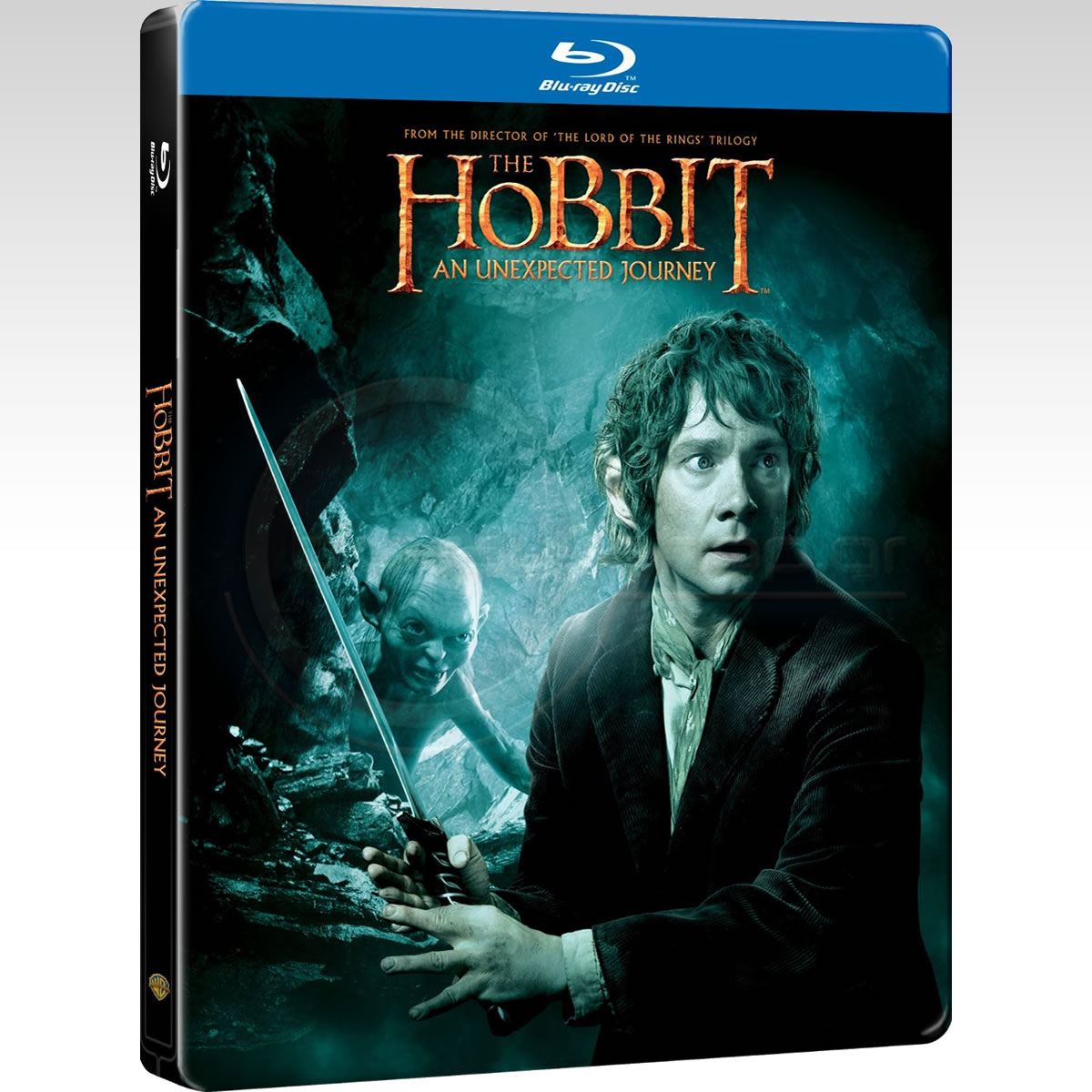 THE HOBBIT: AN UNEXPECTED JOURNEY - THE HOBBIT: ��� ���������� ������ Limited Collector's Edition Steelbook ������������ [��������� �� ���������� ����������] (2 BLU-RAYs)
