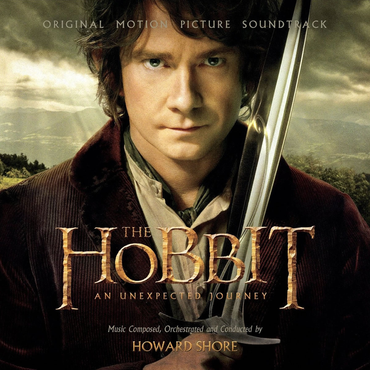 THE HOBBIT: AN UNEXPECTED JOURNEY - ORIGINAL MOTION PICTURE SOUNDTRACK (2 AUDIO CDs)