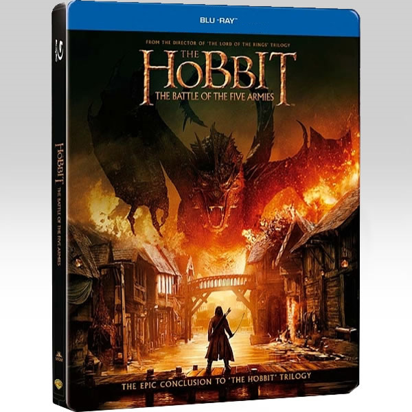 THE HOBBIT: THE BATTLE OF THE FIVE ARMIES Limited Collector's Edition Steelbook [Imported] (2 BLU-RAY)