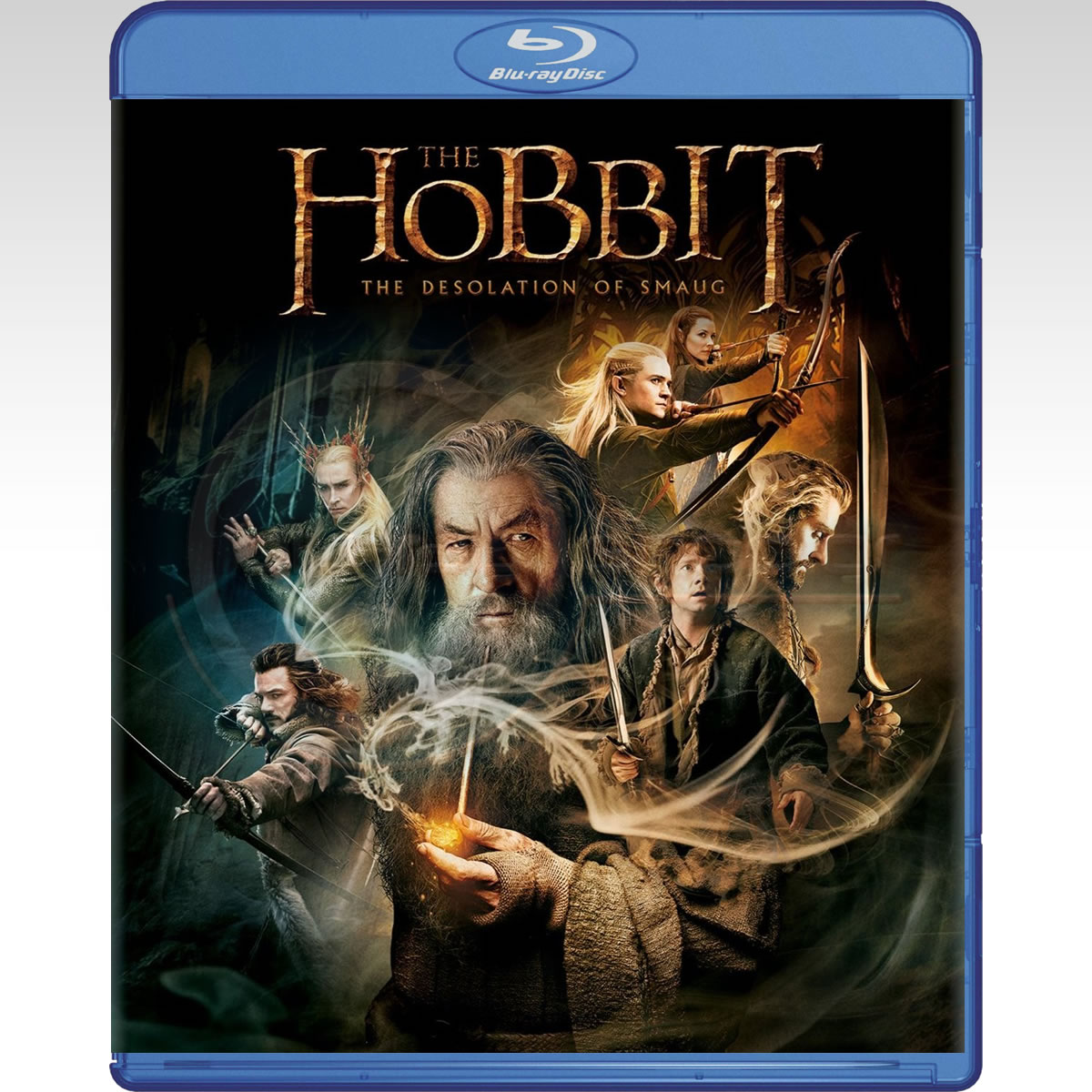 THE HOBBIT: THE DESOLATION OF SMAUG - ������: � ������ ��� �������� (BLU-RAY)