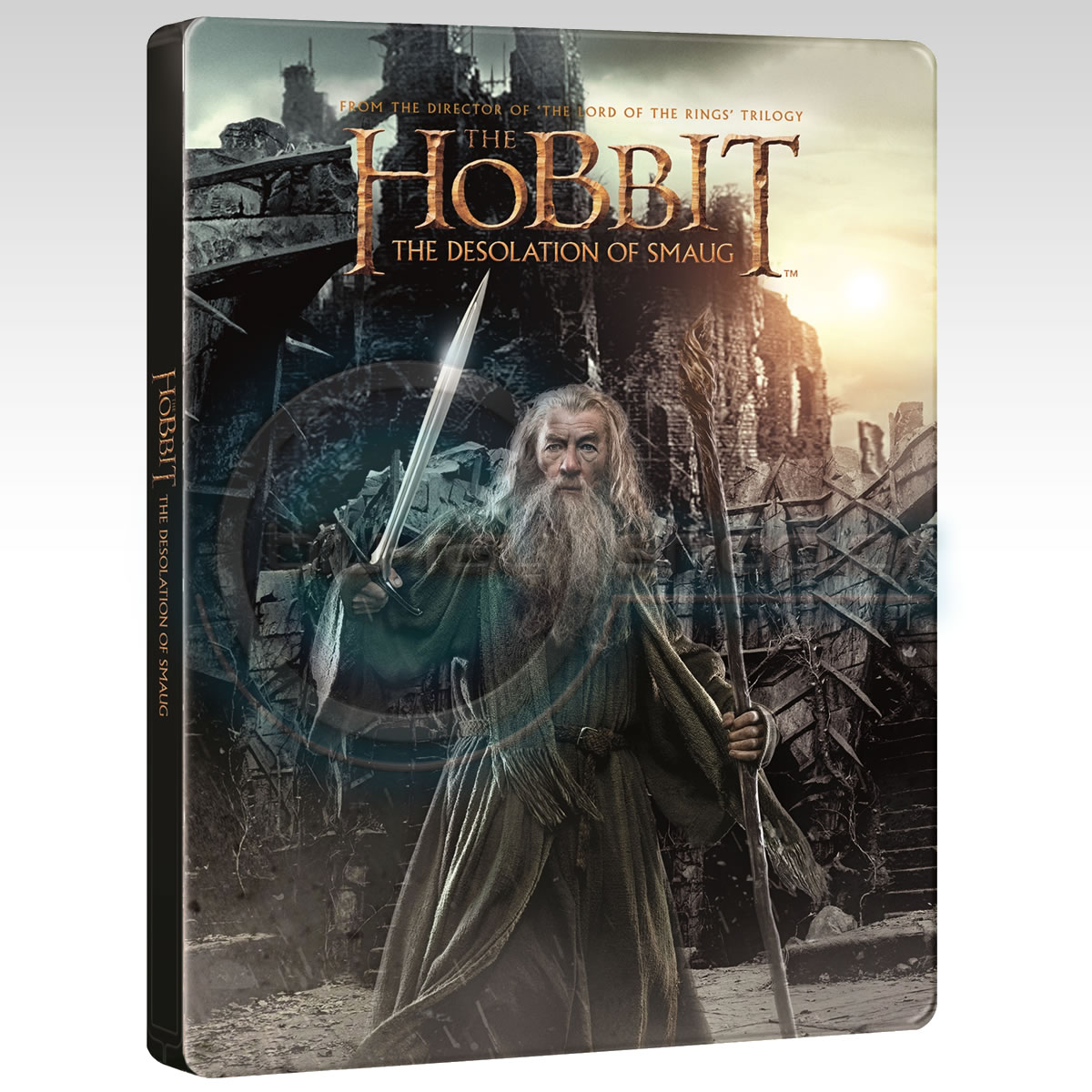 THE HOBBIT: THE DESOLATION OF SMAUG Limited Collector's Edition Steelbook [Imported] (2 BLU-RAY)