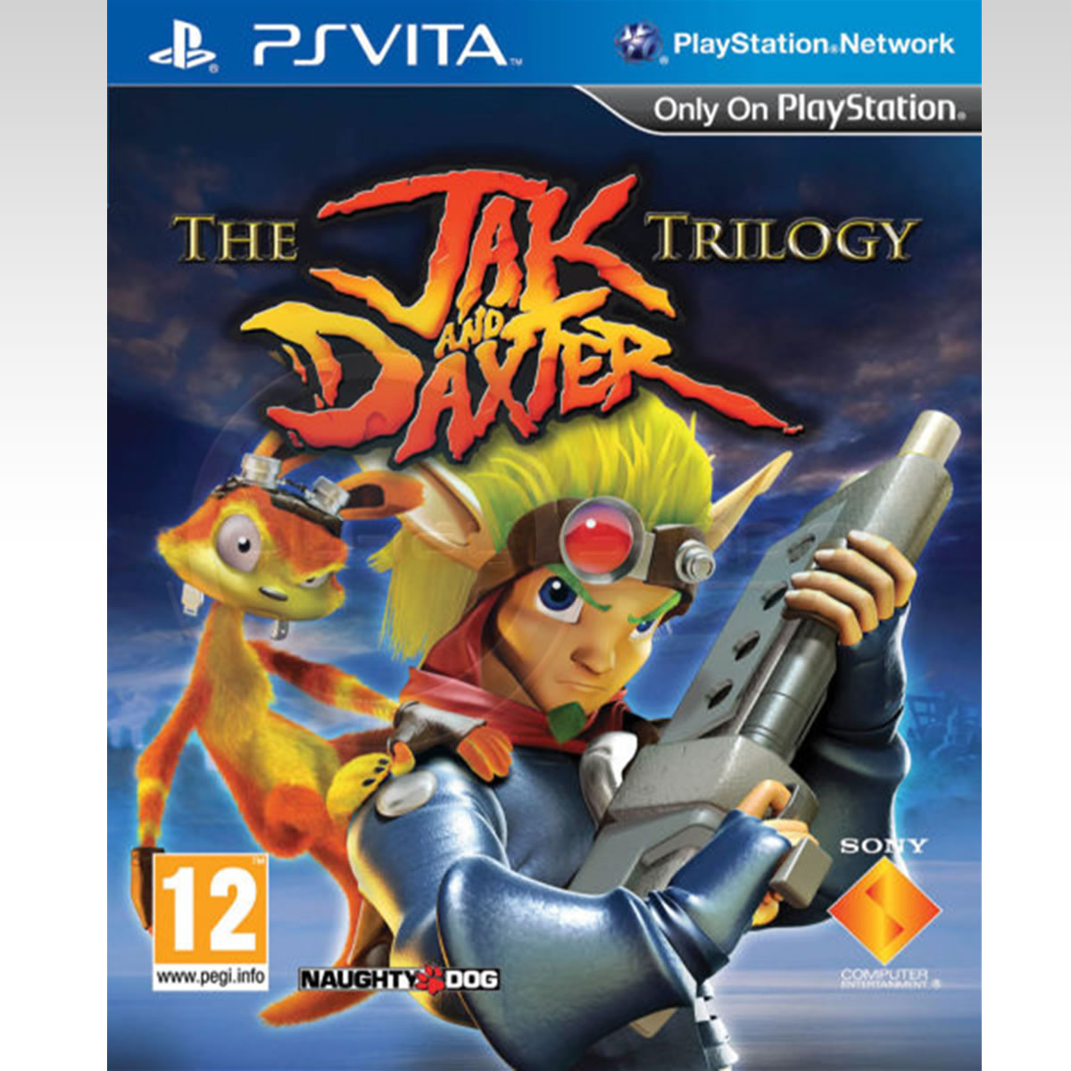 THE JAK AND DAXTER TRILOGY (PS VITA)