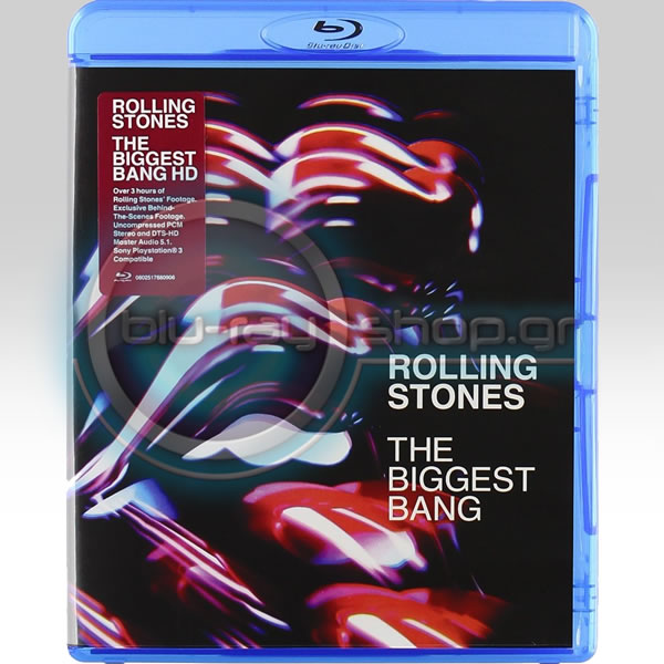 THE ROLLING STONES: THE BIGGEST BANG (BLU-RAY)