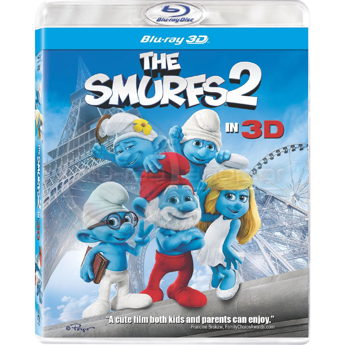 THE SMURFS 2 3D - �� ����������� 2 3D (BLU-RAY 3D) & ���������������