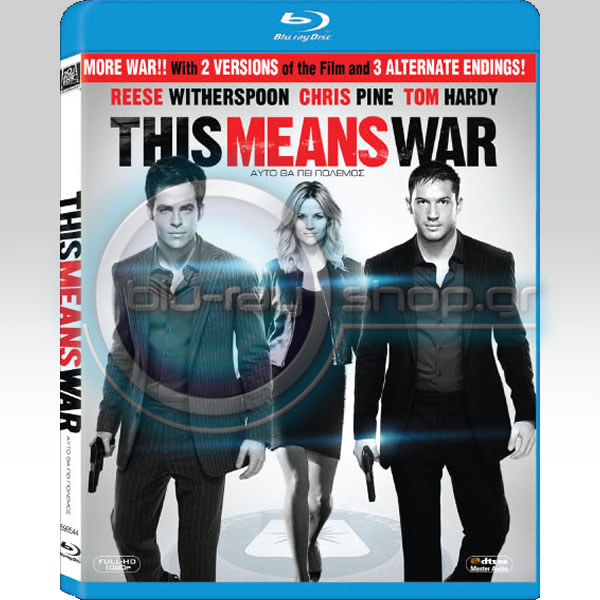 THIS MEANS WAR EXTENDED EDITION - ΑΥΤΟ ΘΑ ΠΕΙ ΠΟΛΕΜΟΣ EXTENDED EDITION (BLU-RAY)