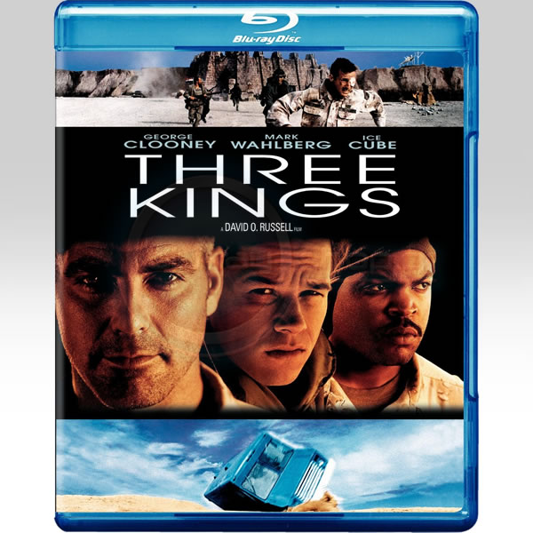 THREE KINGS - �� ����� ����� [��������� �� ���������� ����������] (BLU-RAY)