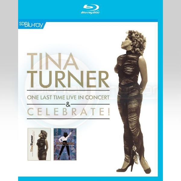 TINA TURNER: ONE LAST TIME LIVE IN CONCERT & CELEBRATE! THE BEST OF TINA TURNER (BLU-RAY)