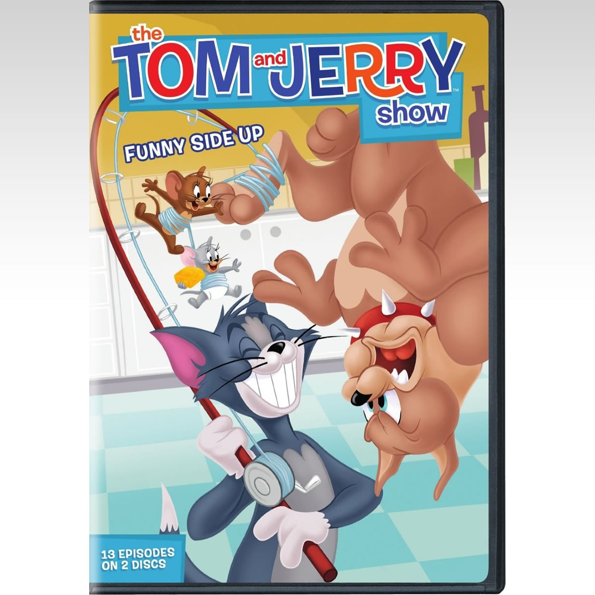 TOM AND JERRY SHOW SEASON 1 PART 2: FUNNY SIDE UP - TOM AND JERRY SHOW �������� 1 ����� 2�: � ������ ������ (DVD)