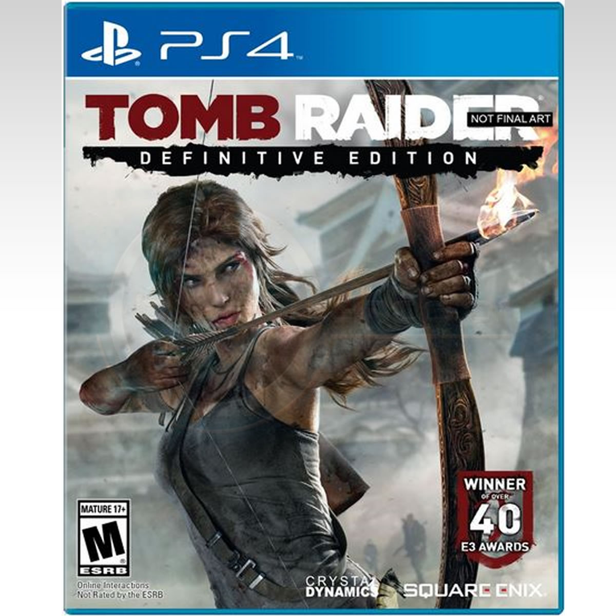 Tomb Raider Definitive Edition For Xbox One And Ps4 4k Hd: TOMB RAIDER DEFINITIVE EDITION (PS4)