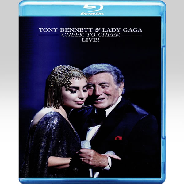 TONY BENNETT AND LADY GAGA: CHEEK TO CHEEK (BLU-RAY)