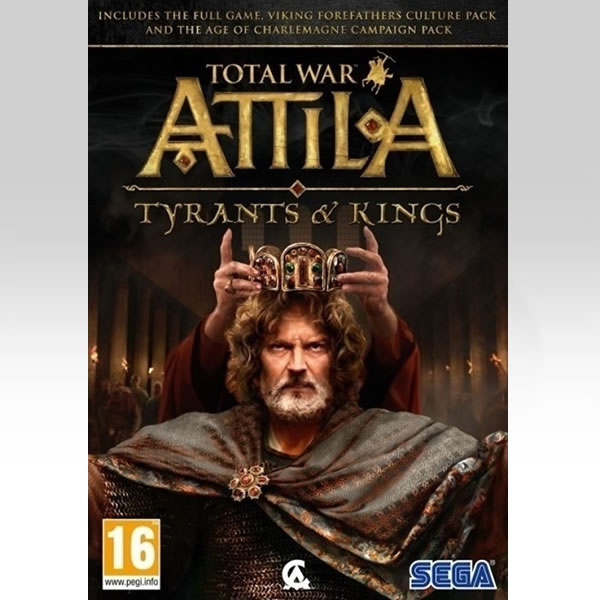 TOTAL WAR ATTILA: TYRANTS AND KINGS EDITION (PC)