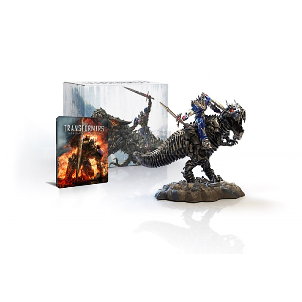 TRANSFORMERS 4: AGE OF EXTINCTION 3D - TRANSFORMERS 4: ΕΠΟΧΗ ΑΦΑΝΙΣΜΟΥ 3D Limited Collector's Edition Steelbook + DINOBOT [Εισαγωγής ΜΕ ΕΛΛΗΝΙΚΟΥΣ ΥΠΟΤΙΤΛΟΥΣ] (BLU-RAY 3D + BLU-RAY)