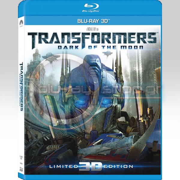 TRANSFORMERS: DARK OF THE MOON 2-DISC Limited 3D Edition (BLU-RAY 3D)
