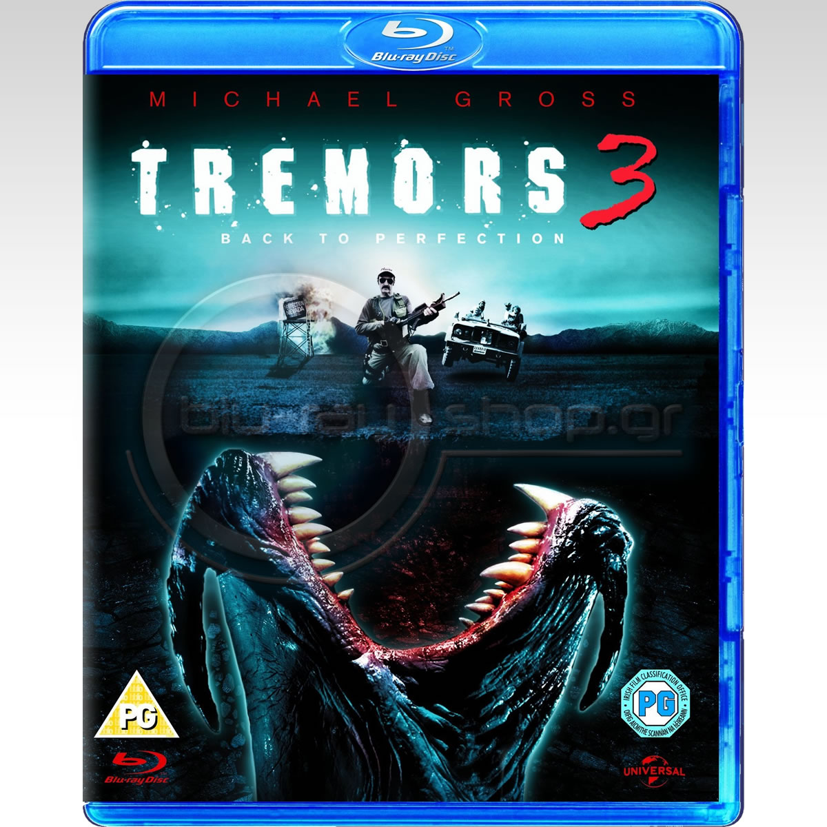 TREMORS 3: BACK TO PERFECTION - �� ������� ��� ��� 3 (BLU-RAY)