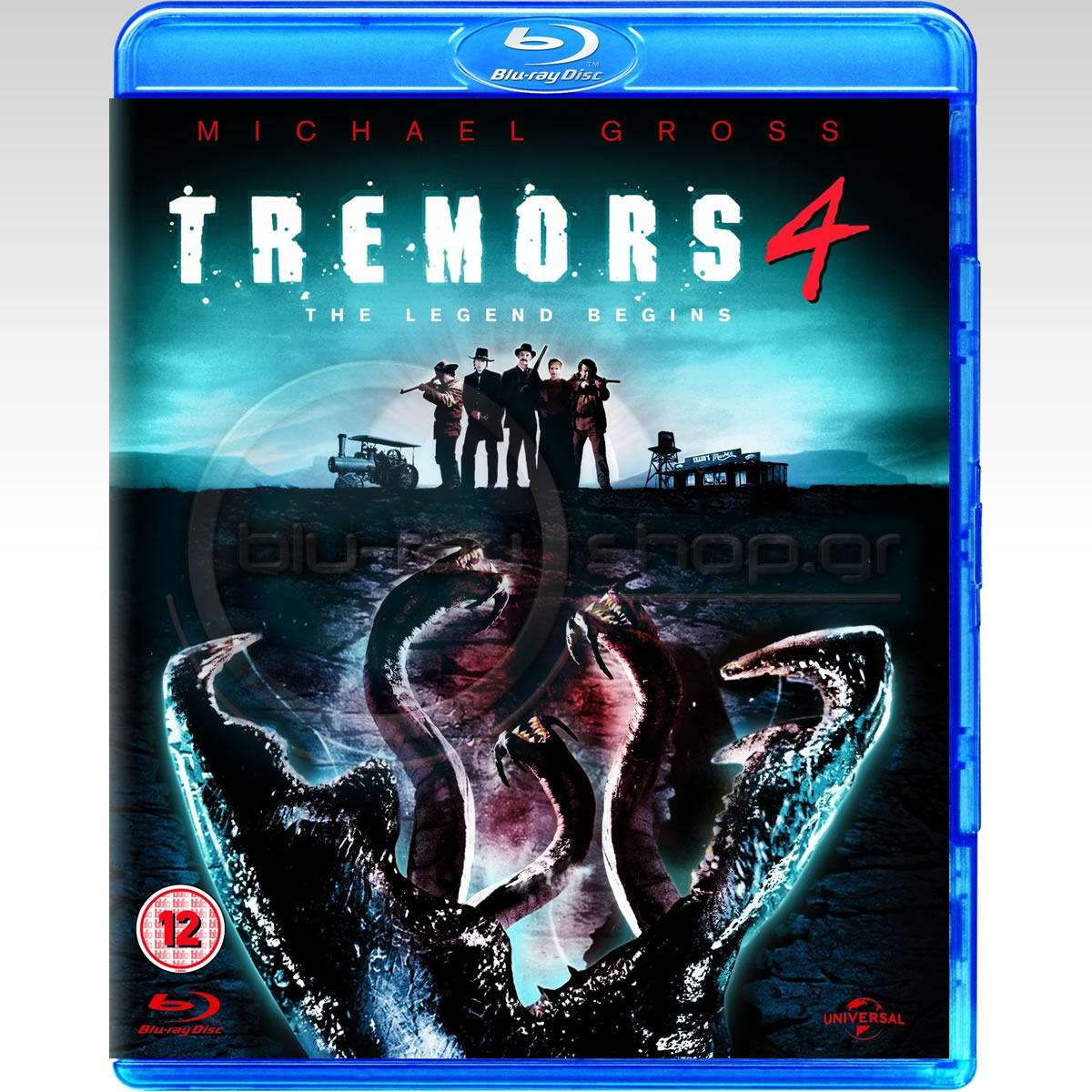 TREMORS 4: THE LEGEND BEGINS - �� ������� ��� ��� 4 (BLU-RAY)
