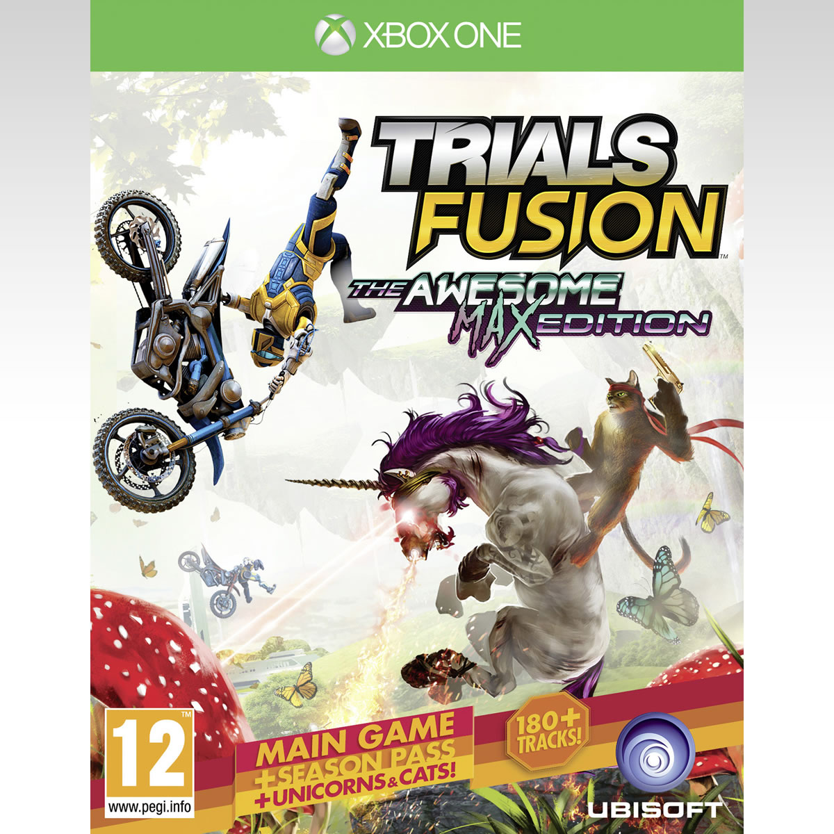 TRIALS FUSION: THE AWESOME MAX EDITION (XBOX ONE)