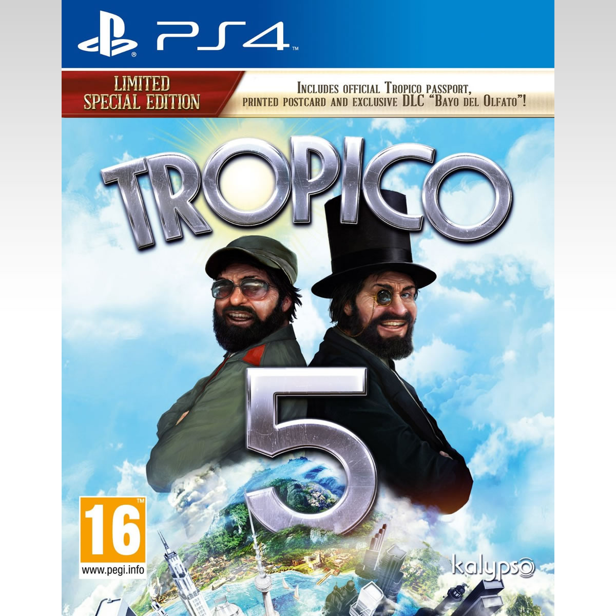 TROPICO 5 - LIMITED SPECIAL EDITION (PS4)