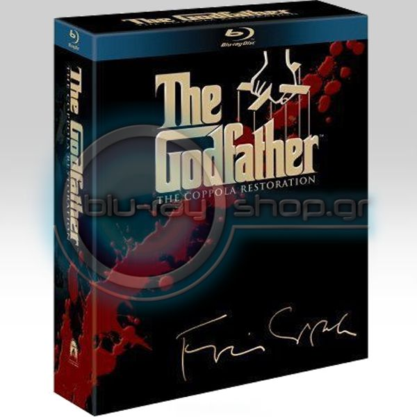 THE GODFATHER TRILOGY: THE COPPOLA RESTORATION (4 BLU-RAYs)
