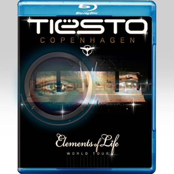 TIESTO: COPENHAGEN - ELEMENTS OF LIFE WORLD TOUR (2 BLU-RAYS)