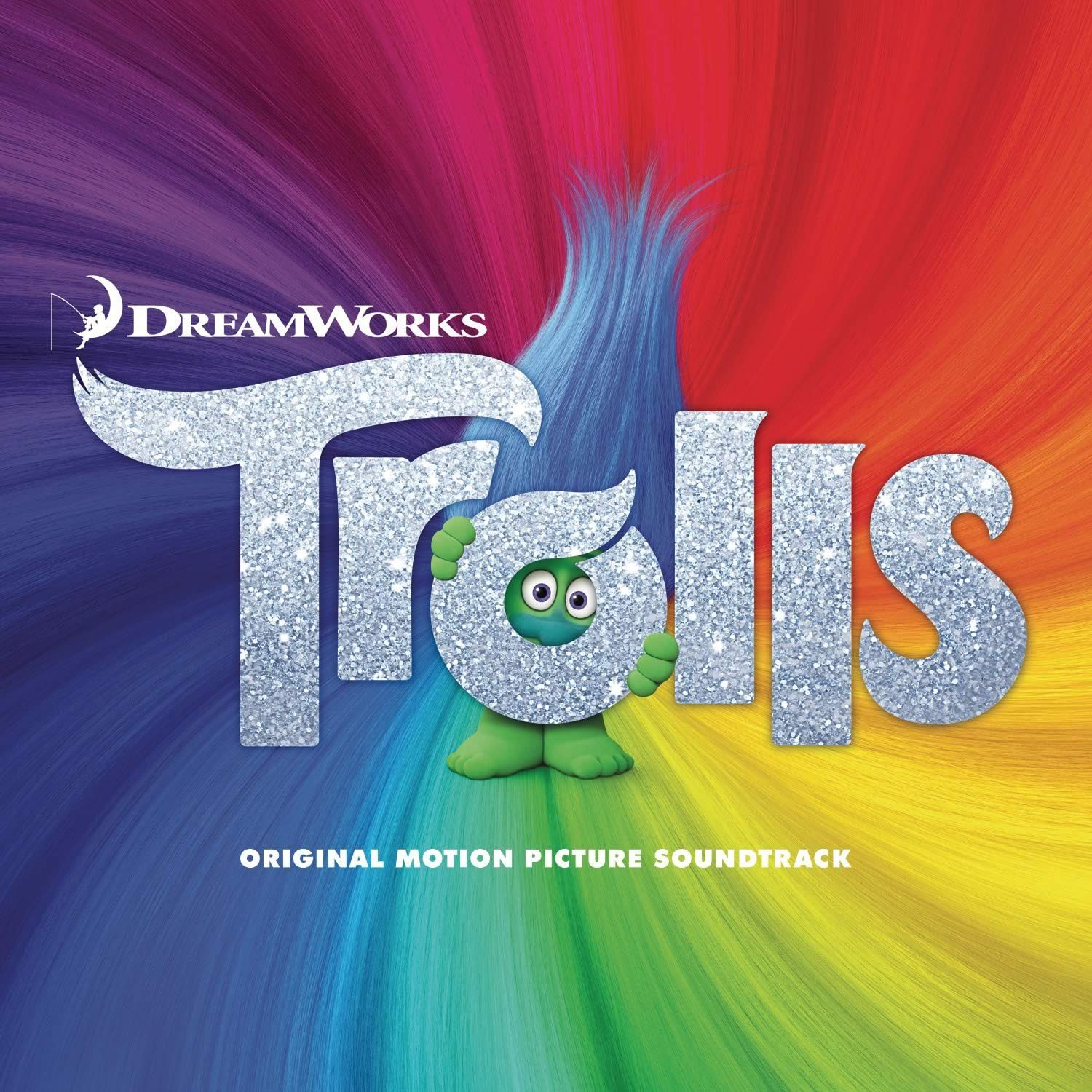 TROLLS - THE ORIGINAL MOTION PICTURE SOUNDTRACK (AUDIO CD)